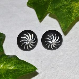 Vintage Swirl Earrings